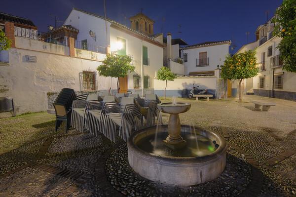 Granada Square Night