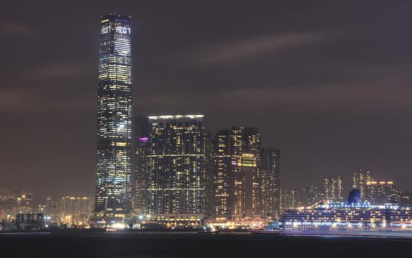 ICC Tower Night