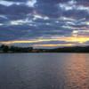 Kalmar Lake Sunset