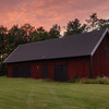 Pastoral Sunset Barn