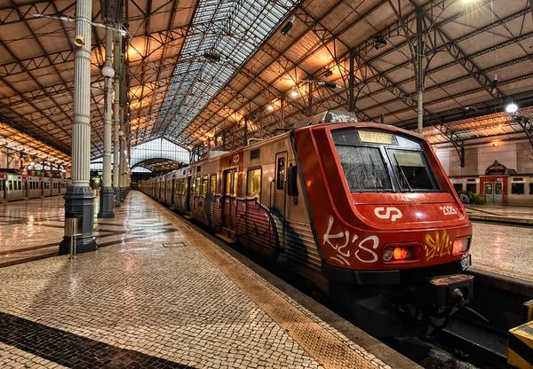 A Rossio Train