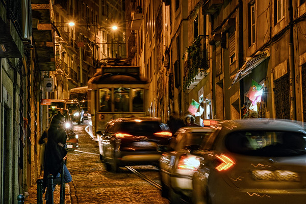 Lisbon Traffic Jam II