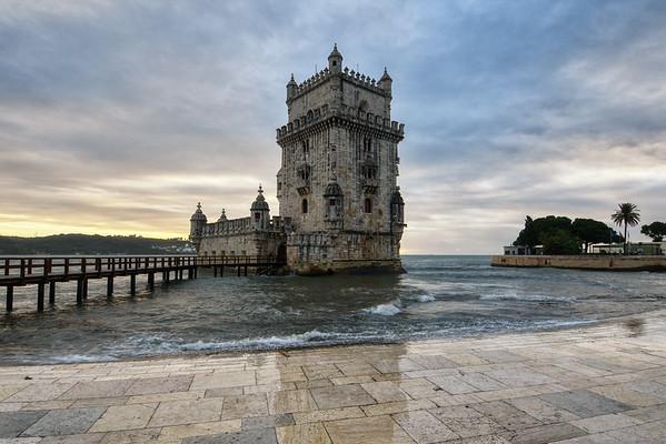 Belém Tower Sunset
