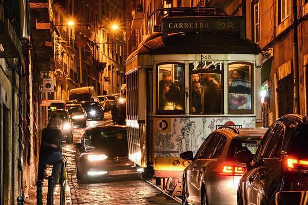 Lisbon Traffic Jam I