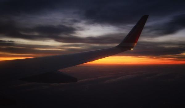 An Aircraft Sunrise
