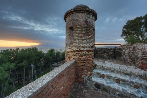 A Gibralfaro Tower