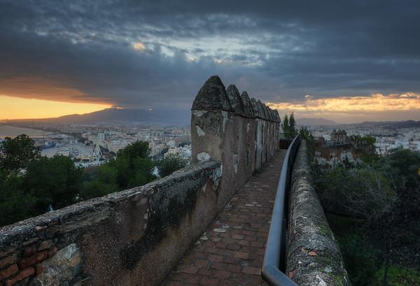 Path of Castle Gibralfaro