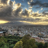 A Málaga Sunset
