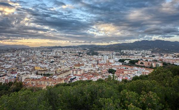 Málaga Sunset Lands