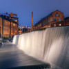 Cotton Mill Waterfall