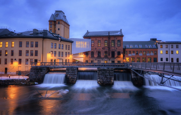 The Industrial Waterfalls I