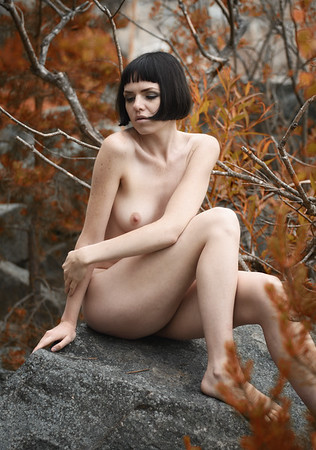 Red Forest Nude