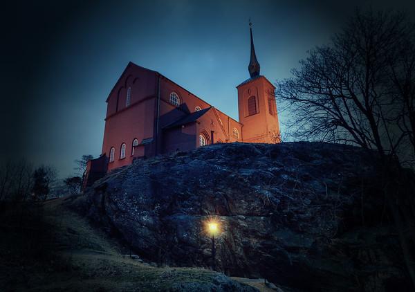 A Spooky Church