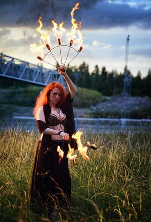 Mystical Fire Fans