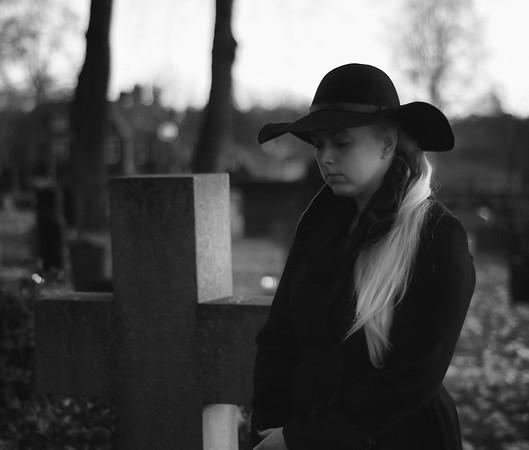 A Widow in Grief