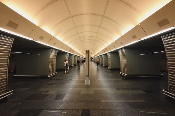 Prague Metro Tunnel