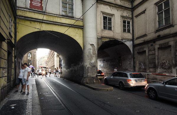 Two Prague Tunnels