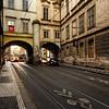 Prague Tram Street