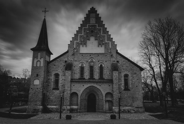 Scary Church of Mary