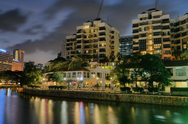 Robertson Quay Evening II