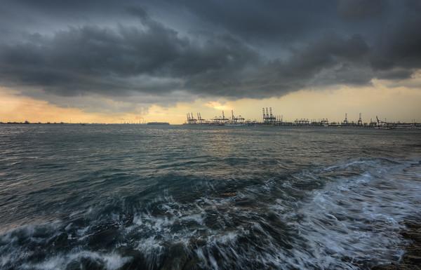Labrador Sunset Storm