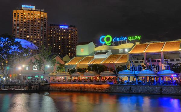 Clarke Quay Night
