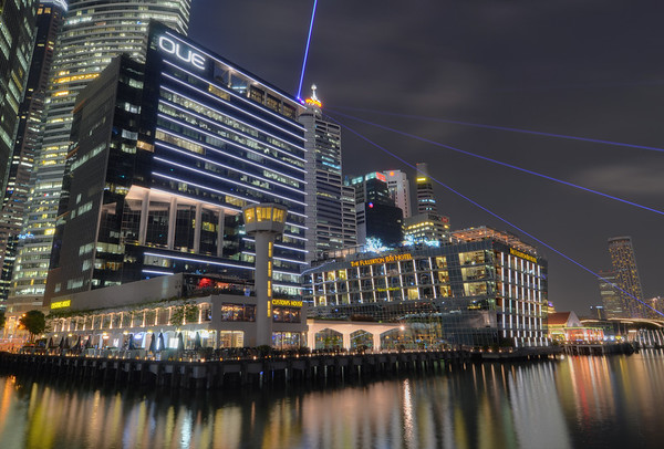 Lasers of Marina Bay I