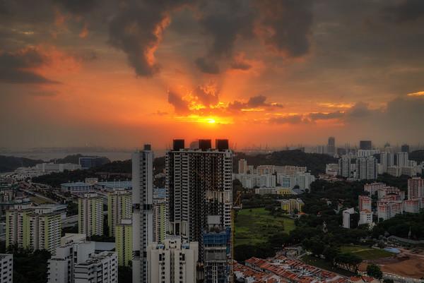 A Pinnacle Sunset