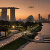 Marina Barrage Sunset