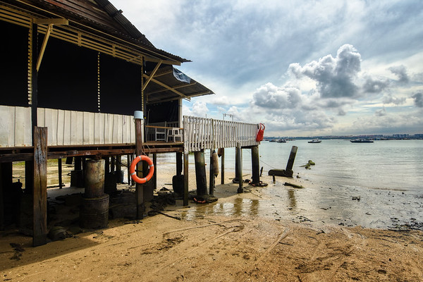 Pulau Ubin, Singapore. December 2018.