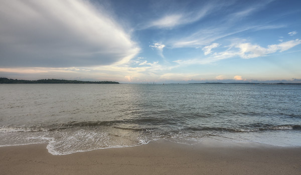 Changi Beach Evening