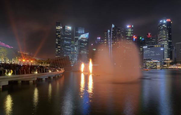 Fires of Marina Bay