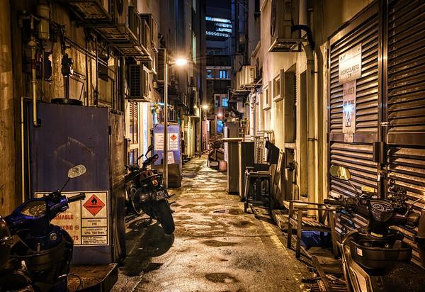 Crammed Alley Night