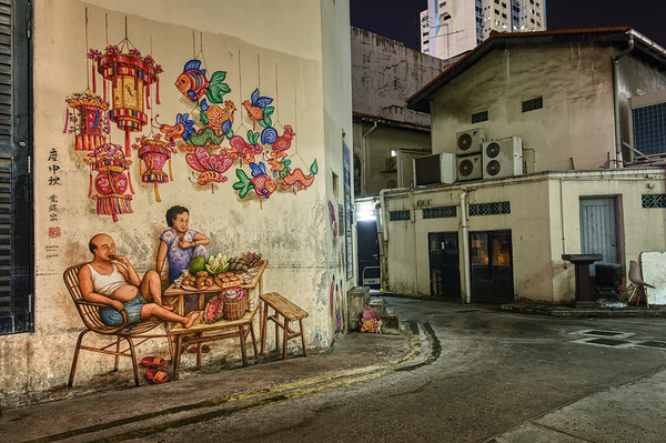A Chinatown Mural I