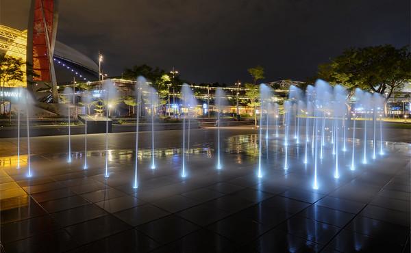 Kallang Fountain Night