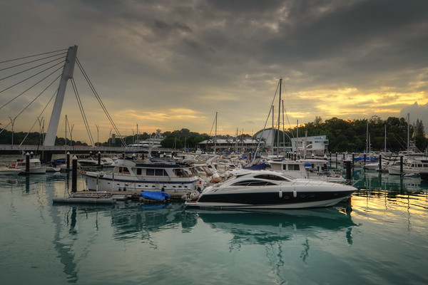 Keppel Sunset Boats