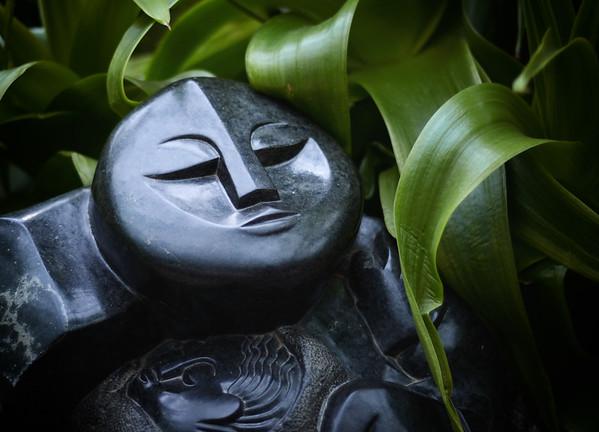 Flat Faced Buddah