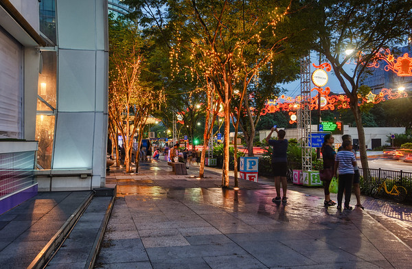 Lights of Plaza Singapura