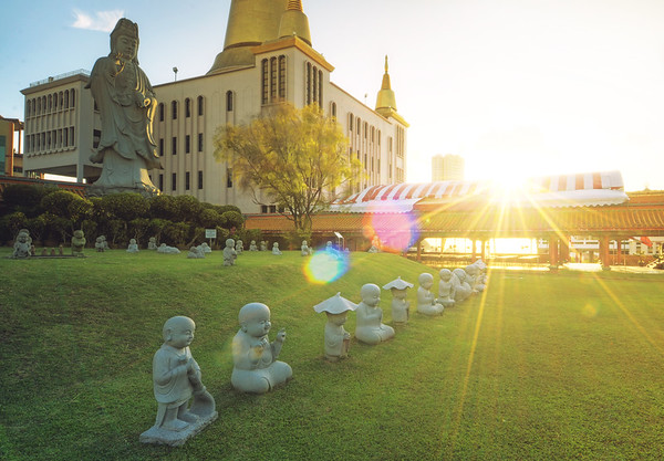 The Sunshine Buddhas