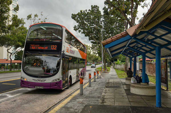 A Hougang Bus