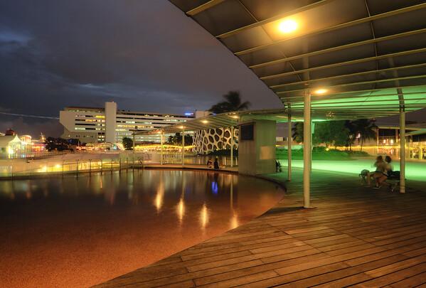 Wading Pool Nightfall