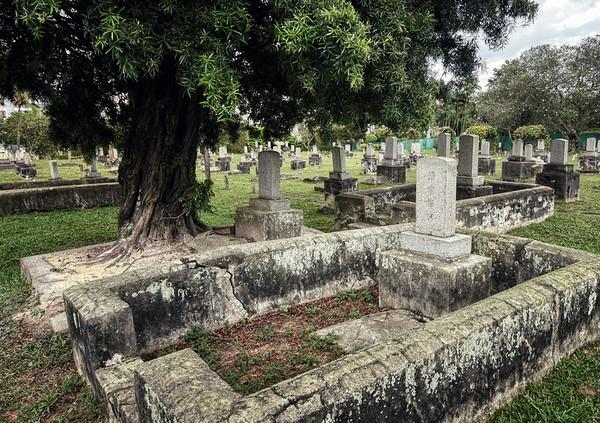 A Japanese Cemetery