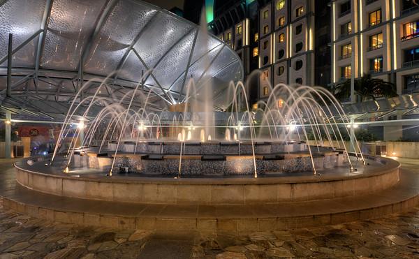 A Sentosa Fountain