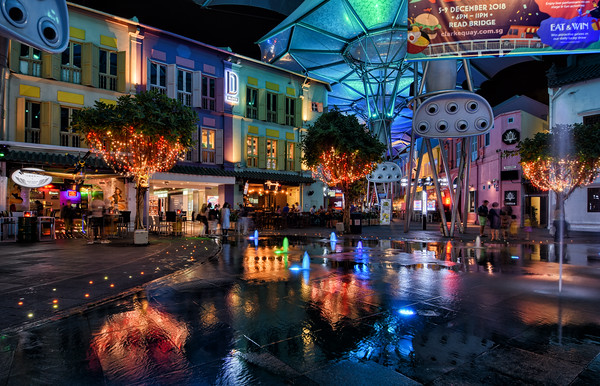 Clarke Quay Night III