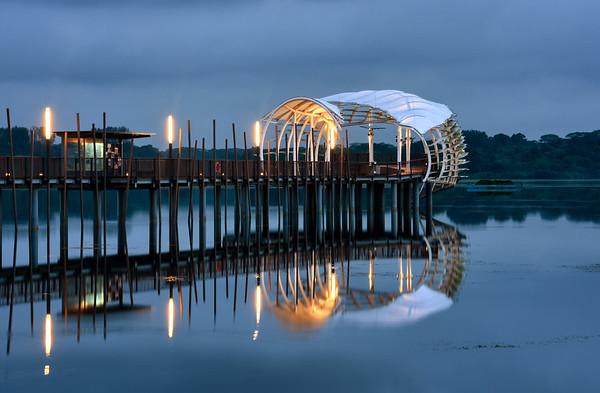Heritage Bridge Evening