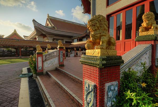Golden Dragons Temple