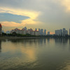 Golden Kallang Sunset