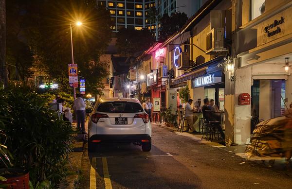 Bali Lane Night