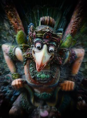 Garuda the Bird God
