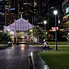 Raffles Place Night